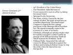 grover cleveland 2 nd administration