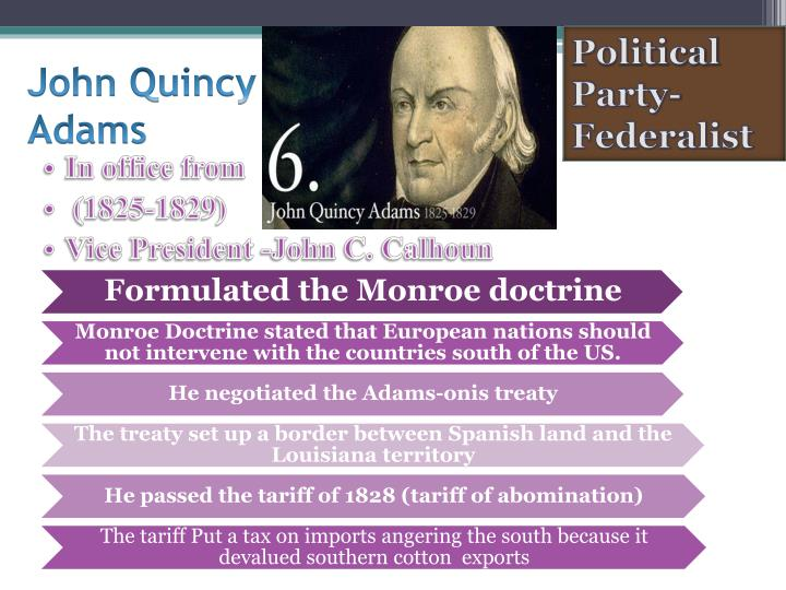 Political Party- Federalist