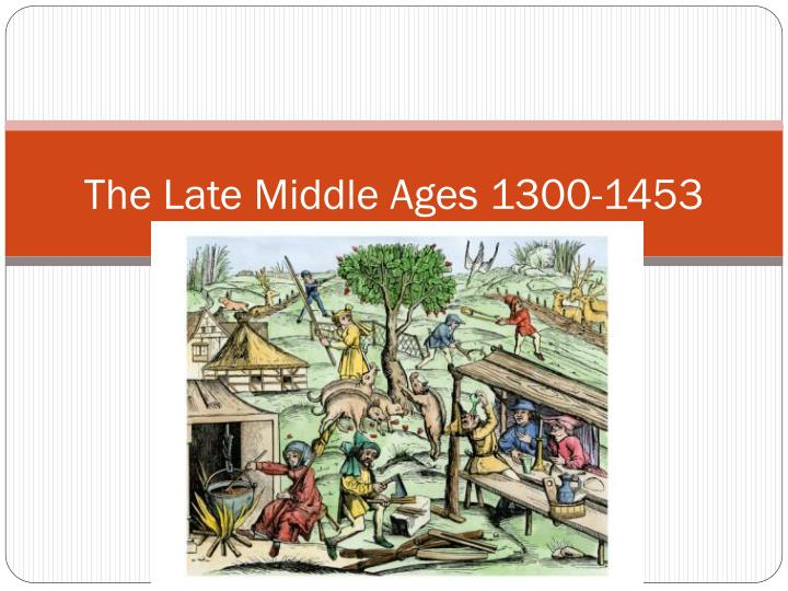 the church and the middle ages essay