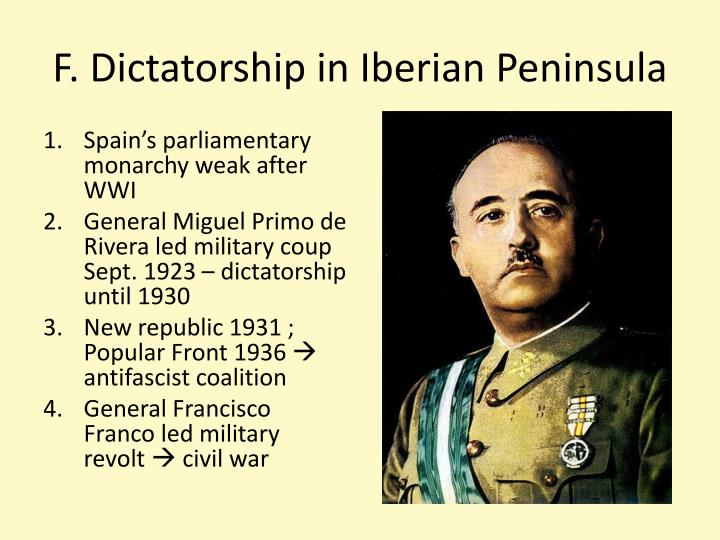 F. Dictatorship