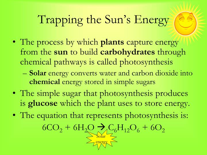 Trapping the Sun's Energy