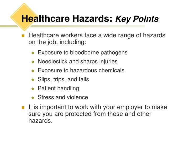 Healthcare Hazards: