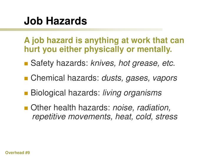 Job Hazards