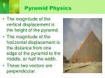 pyramid physics