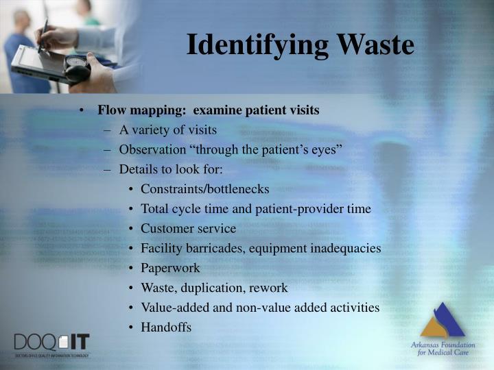 Identifying Waste