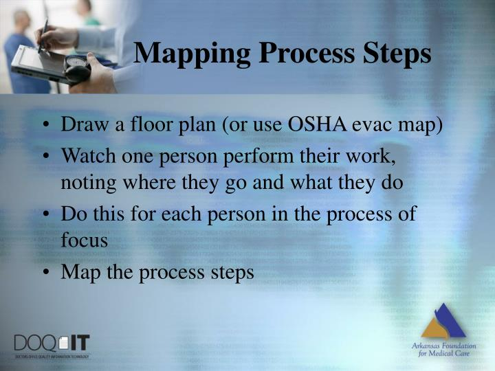 Mapping Process Steps
