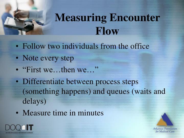 Measuring Encounter Flow