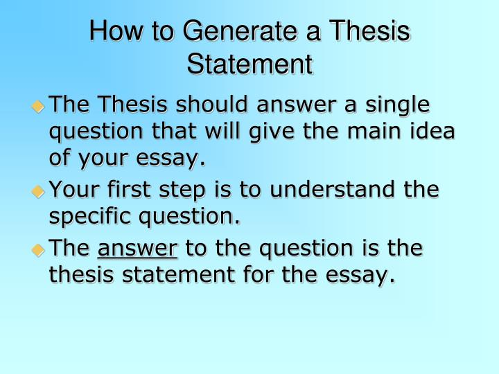 Is a thesis masters considered published