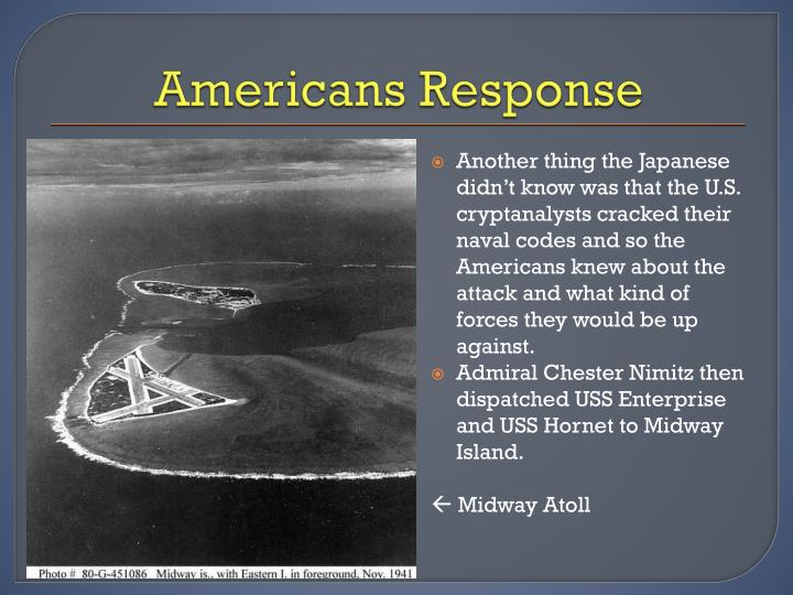 Americans Response