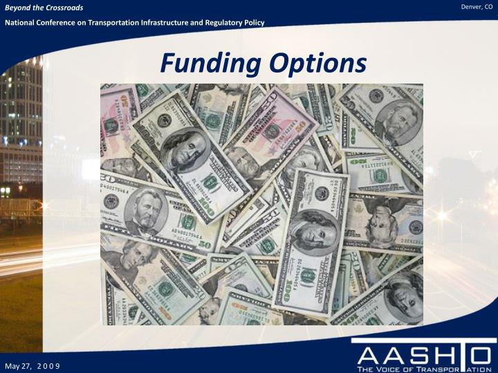 Funding Options