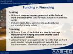 funding v financing