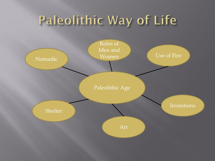 Paleolithic Way of Life