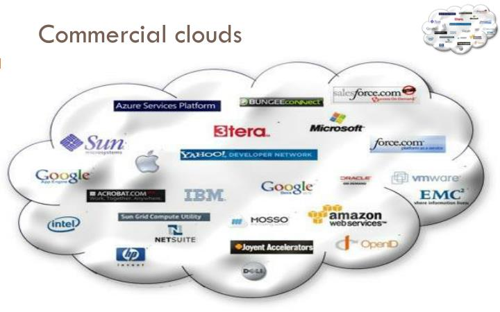 Commercial clouds