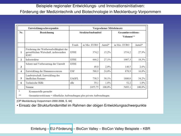 [OP Mecklenburg-Vorpommern 2000-2006, S. 64]