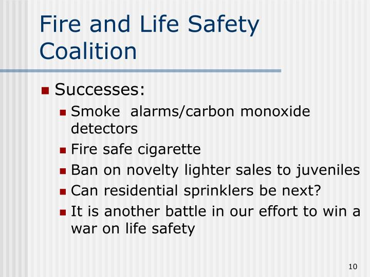 Fire and Life Safety Coalition