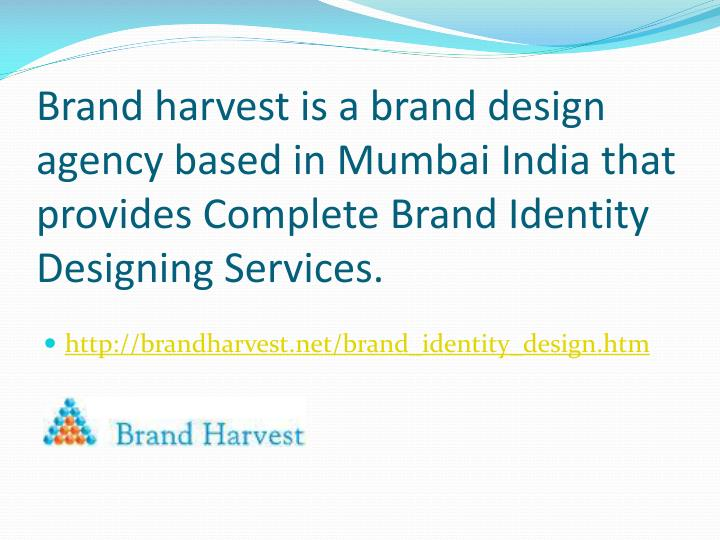 Brand harvest is a brand design agency based in Mumbai India that provides Complete Brand Identity Designing Services.