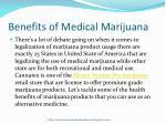 benefits of medical marijuana