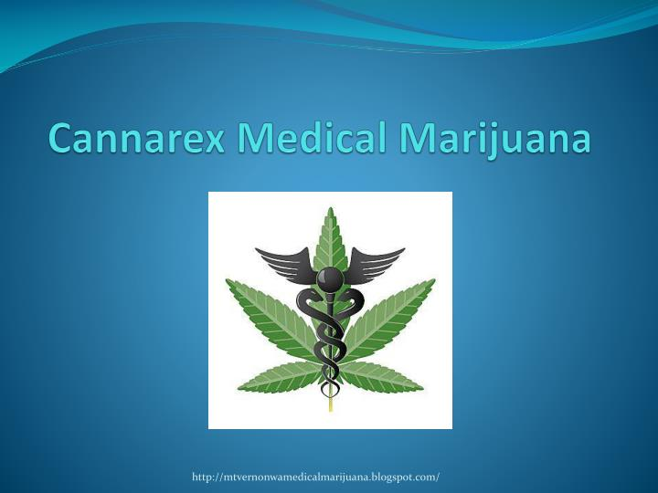 Cannarex medical marijuana