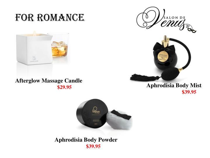 For Romance