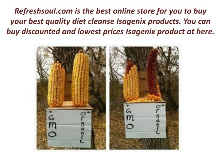 Refreshsoul.com is the best online store for you to buy your best quality diet cleanse
