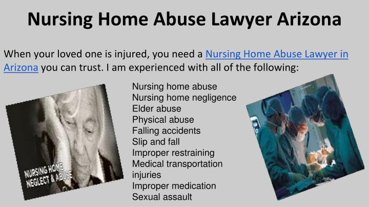 Nursing Home Abuse Lawyer Arizona