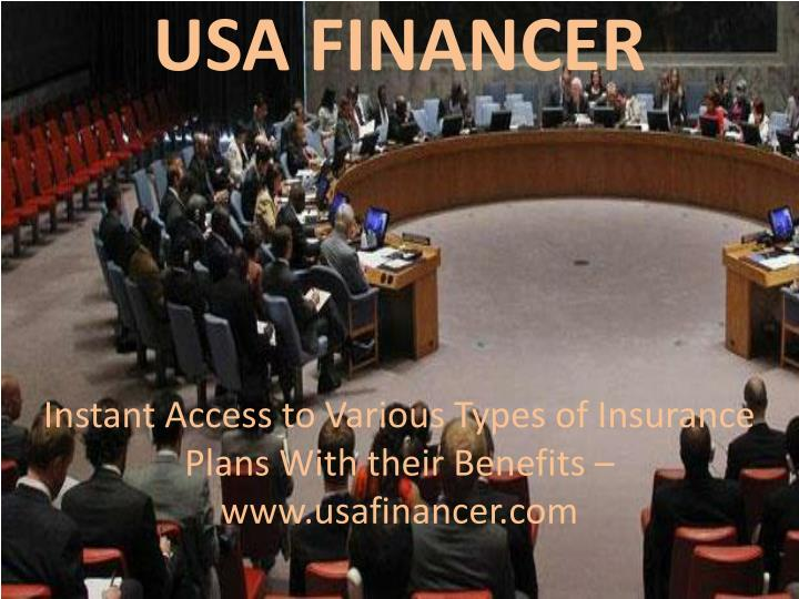 Usa financer