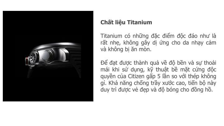 Chất liệu Titanium