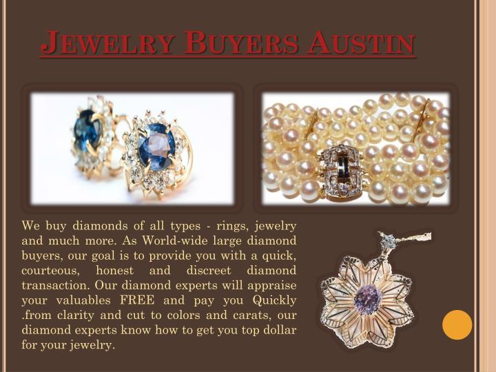 Jewelry Buyers Austin