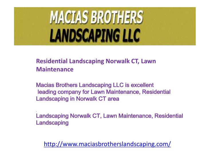 Residential Landscaping Norwalk CT, Lawn