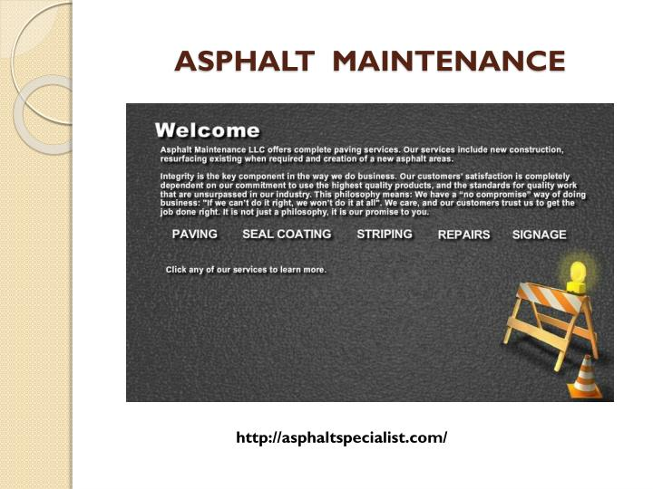 Asphalt maintenance1