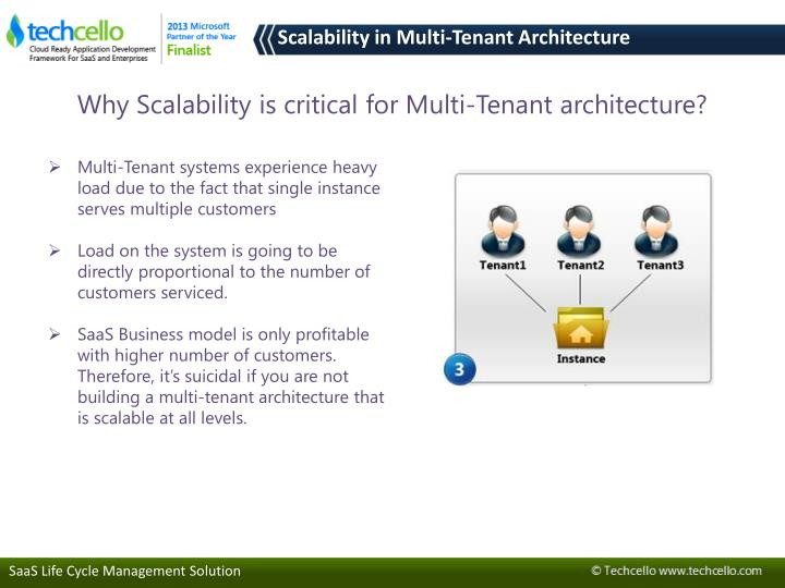 Why Scalability is critical for Multi-Tenant architecture?