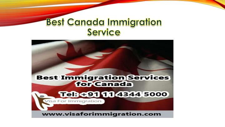 Best Canada Immigration Service