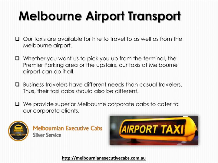 Melbourne Airport Transport