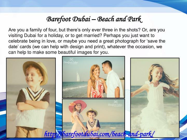 Barefoot Dubai – Beach and Park
