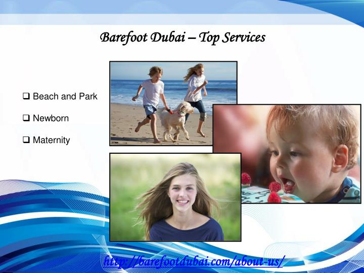 Barefoot Dubai – Top Services