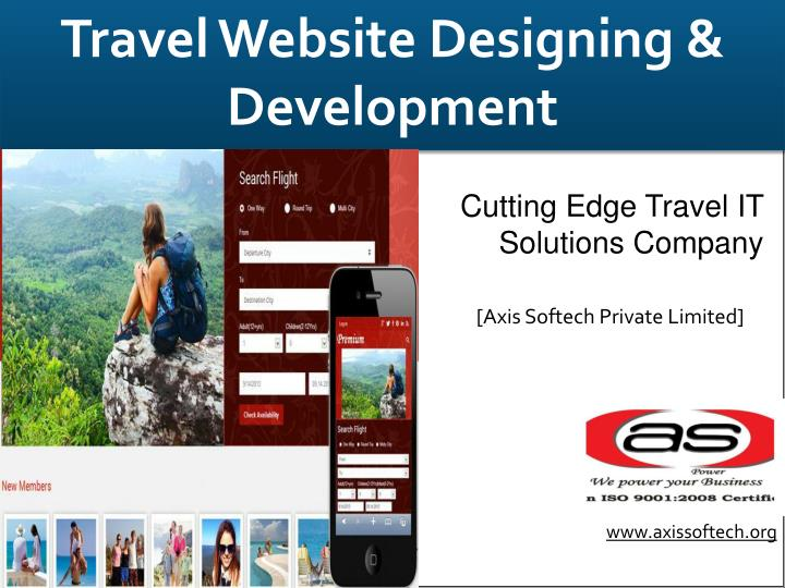 Travel Website Designing &  Development