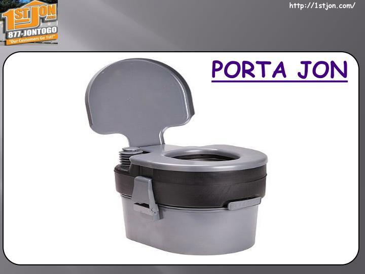 PORTA JON