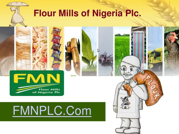 Flour Mills of Nigeria Plc.