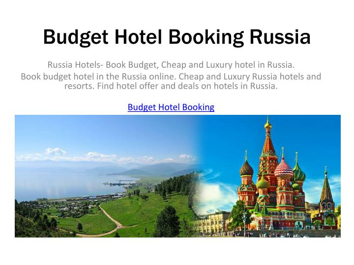 Ppt Russia Hotels Book Budget Cheap And Luxury Hotel In