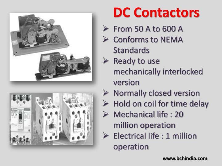 DC Contactors