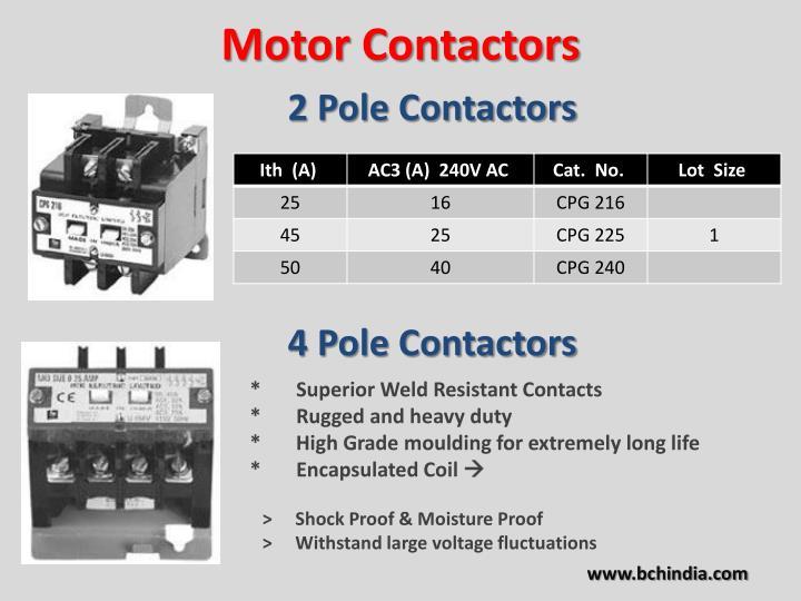 Motor Contactors