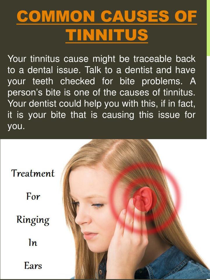 Common Causes Of Tinnitus