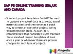sap ps online training usa uk and canada8