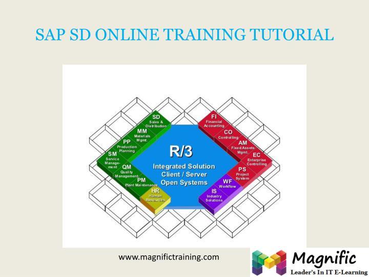 SAP SD ONLINE TRAINING TUTORIAL