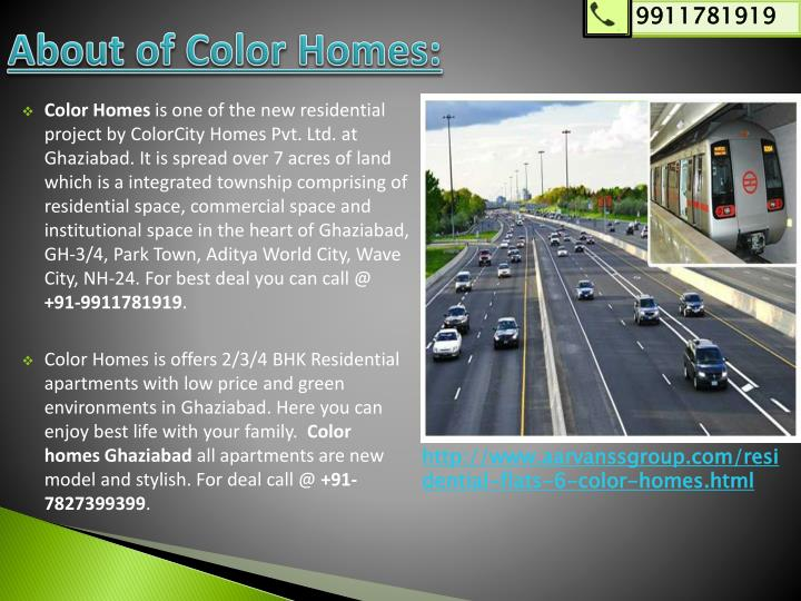 About of color homes