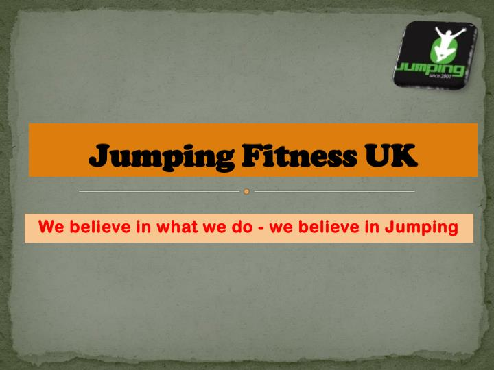 Jumping fitness uk