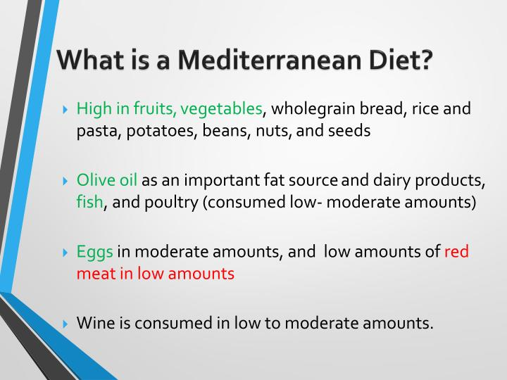 What is a Mediterranean Diet?