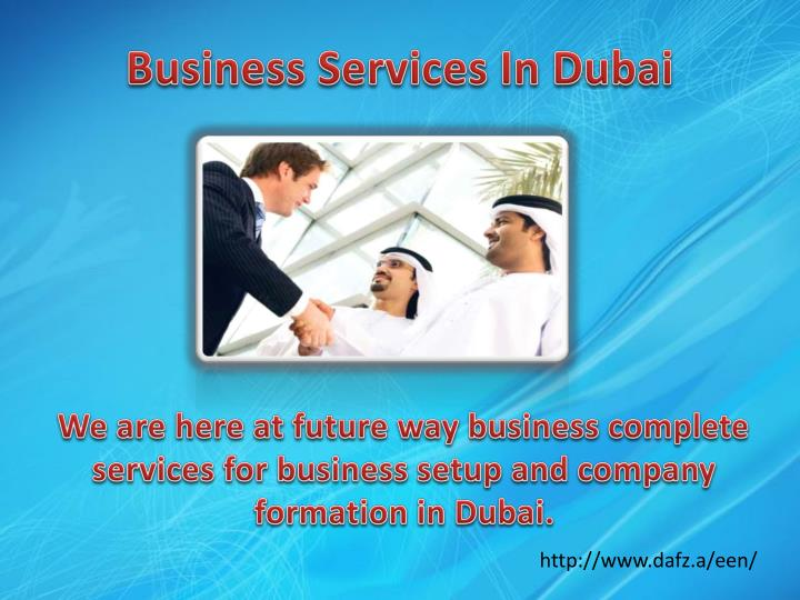 Business services in dubai