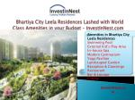 bhartiya city leela residences lashed with world class amenities in your budget investinnest com3