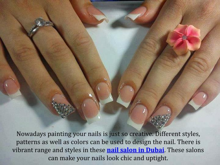 Nowadays painting your nails is just so creative. Different styles, patterns as well as colors can be used to design the nail. There is vibrant range and styles in these